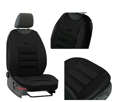 Universal Car Seat Covers Eco Leather /& Fabric fits Ford Ranger 2010 ONWARDS