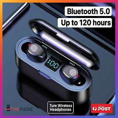 【120hours ↑】Wireless Bluetooth 5.0 Earphones Headphones Airpods iPhone Android