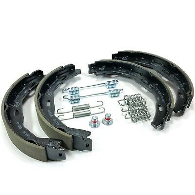 REAR HANDBRAKE SHOE KIT WITH FITTINGS FOR MERCEDES SPRINTER VW CRAFTER 2006-16