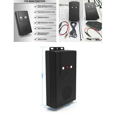 Home/Car Ultrasonic Mouse Mice Rat Pest Repeller Battery USB Powered Pest Auto