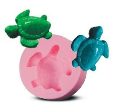 TURTLE MINI Silicone Mould Mold: Soap / Candle , Resin, Animal Shapes, Tortoise
