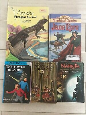 Childrens Book Bundle Lot Home School Church Library Vintage Kids Books