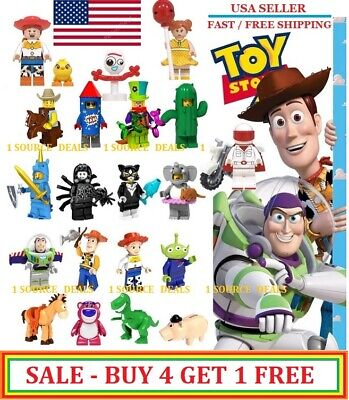 Toy Story 4 Minifigures Fits Lego Building Blocks Brand New Pixar - Best Deal