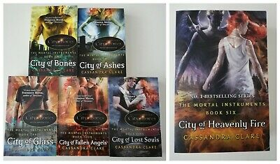 The Mortal Instruments Series; Clare, Cassandra; 6 book set; Like New