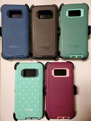 OtterBox Defender Rugged Case W/ Holster Clip For Samsung Galaxy S8 ONLY Colors
