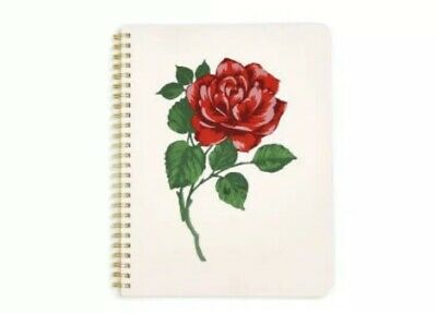 Brand New Ban.do Spiral Notebook - Will You Accept This Rose