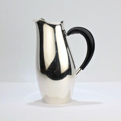 Towle Silver Plated Contour Cocktail Pitcher by Robert King & J. Van Koert - SL