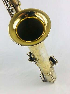 Conn Gold Plated New Wonder Tenor Sax  BLOW OUT DEAL!