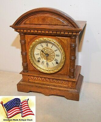 Restored Seth Thomas Kent - 1905 Fine & Rare Antique City Series Cabinet Clock