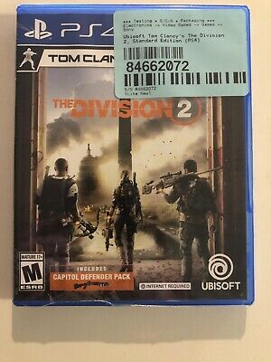 Tom Clancy's The Division 2 PS4 Playstation 4 Sealed Fast Ship