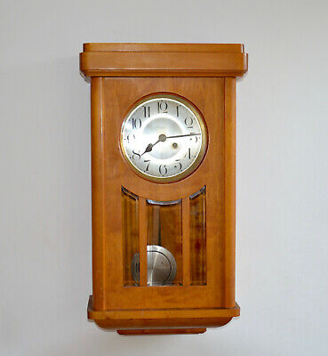 Vintage Antique German Kienzle Uhren Wall Clock 1920s