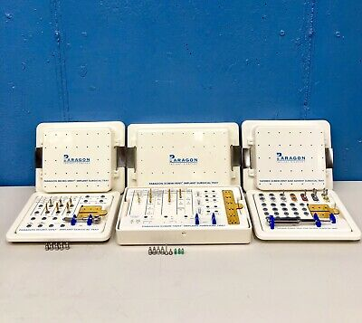 Paragon Tapered Screw-Vent & Advent Surgical Tray System for Implantology