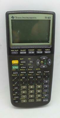 Texas Instruments TI-83 Plus Graphing Calculator Parts Only Does Not Work