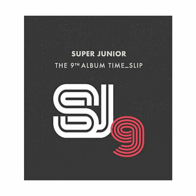 SUPER JUNIOR [TIME SLIP] 9th Album CD+POSTER+Photo Book+Photo Card+GIFT