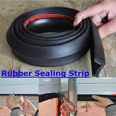 1-7M Garage Door Floor Mount Threshold Weather Seal RUBBER Draught Excluder
