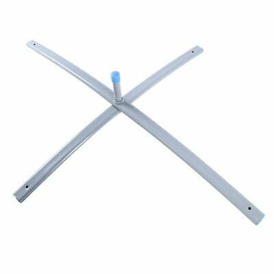 "Collapsible Metal Free Standing X-Base FlagPole Holder Mount Cross Base 32""x 26"""