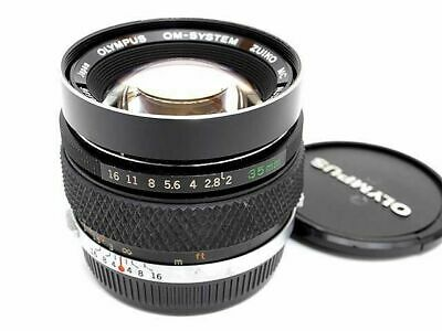 Olympus OM Zuiko Auto-W 35mm F2 MC Wide Angle Prime Lens Excellent Japan F/S
