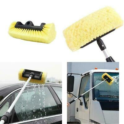 Professional Car Cleaning Wash Brush Head Soft 40% More Bristles Clean Truck New