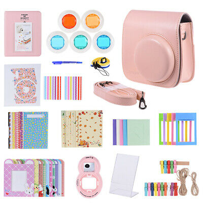 Andoer 14 in 1 Accessories Kit for Fujifilm Instax Mini 8/8+/8s/9 with H3D3