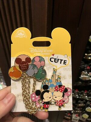 Disney Parks Shanghai 2019 The Balloon Minnie & Mickey Collection Pin