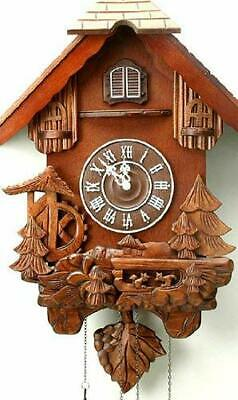 Black Forest Design Carved Wood Cuckoo Clock - 74cm W6758