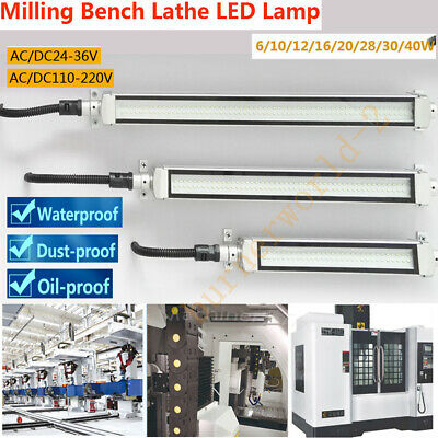 CNC Milling Lathe LED Light 6-40W Industrial Work Lamp for Router 24/36/220V