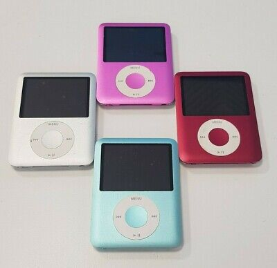 Apple iPod Nano 3rd  Generation - Mixed Grades & Colours - Fully Working