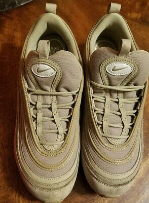 NIKE WOMEN AIR MAX 97 UL ULTRA KHAKI LIGHT BONE SZ 5 [AJ2248