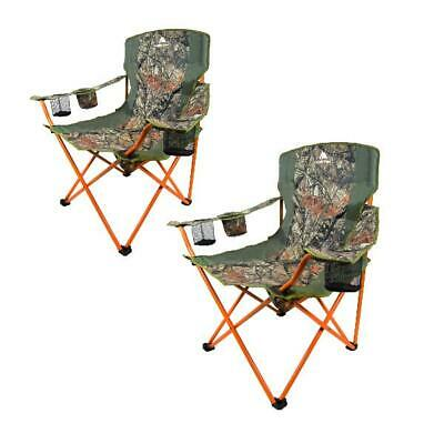 Pleasing Camping Folding Quad Chair Padded Outdoor Sports Heavy Duty Theyellowbook Wood Chair Design Ideas Theyellowbookinfo