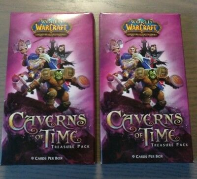 WoW TCG 2 x Caverns of Time Treasure Booster Packs World of Warcraft