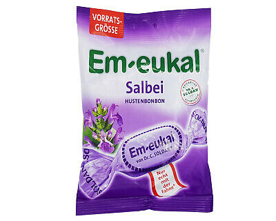 2x/5x bags Em-eukal Sage Salbei 🍬 cough throat drops lozenges TRACKED ✈