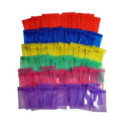 Mini Smelly Proof Baggies 45mm Colorful Air Tight Pouch Zip Lock Resealable