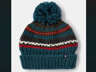 Joules Bobble Hat Age 3-7 Years