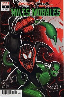 Marvel Comics Absolute Carnage Miles Morales and Lethal Protectors #1 Gift Set