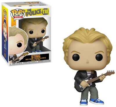 Funko Pop Rocks : Musica: The Police Sting Figura Vinile da Collezione 118
