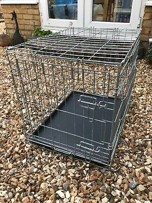 Dog / Pet Travel / Transport Cage - Medium Size