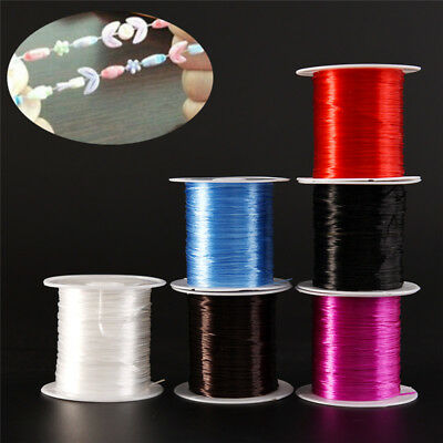 Strong Stretchy Elastic Beading Thread Cord Bracelet String Jewelry DIY 1MM UL
