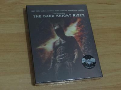 The Dark Knight Rises TDKR NovaMedia Exclusive Steelbook Lenticular Korea BD