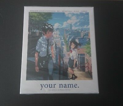 Your Name Coleccionista EC CE Digipak Digipack España Spain Blu-ray OST BSO OOS