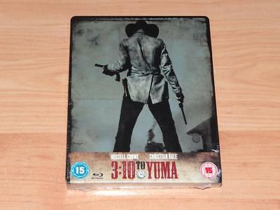 3:10 to Yuma Zavvi Exclusive Steelbook UK Blu-ray BD OOP OOS Tren Caja Metalica
