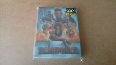 Deadpool 2 Steelbook Manta Lab MantaLab Hong Kong Lenticular Full Single Blu-ray