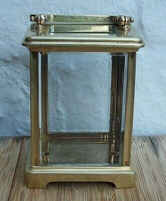 Genuine Antique French Brass Carriage Clock Case circa 1900