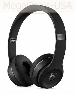 Beats by Dr. Dre Solo3 Wireless Over the Ear Headphones Gloss Black - (D2)