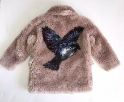 stella mccartney Girls Coat Age 5 Yrs Immaculate Condition