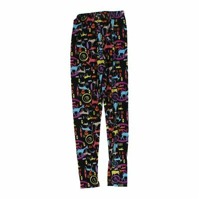 M.u.s.a Baby Girls Leggings size One Size,  black,  polyester, spandex