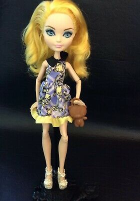 Ever After High Doll~Blondie Lockes~1st Chapter~Dress~Goldie~Bear