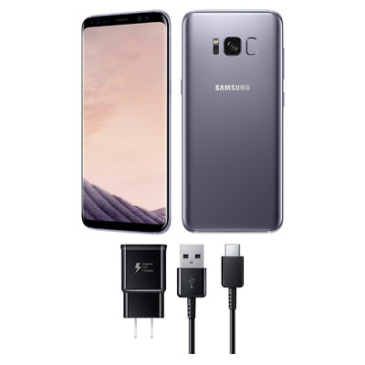 NEW Samsung Galaxy S8 SM-G950U Gray 64GB GSM Factory Unlocked T-Mobile AT&T