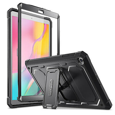 for Samsung Galaxy Tab A 10.1 2019 SM-T510 Case Rugged Bumper Kickstand Cover
