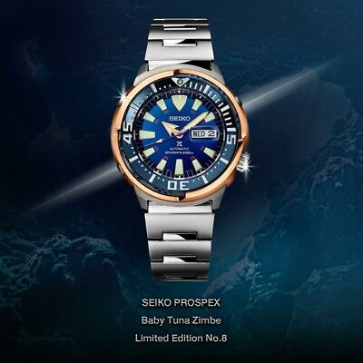 Latest NEW Seiko SRPC96K1 Thailand Limited Edition Zimbe 8 Baby Tuna 1234 pcs