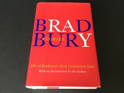BRADBURY STORIES Book HCDJ Hand Signed In Ink By Ray Bradbury